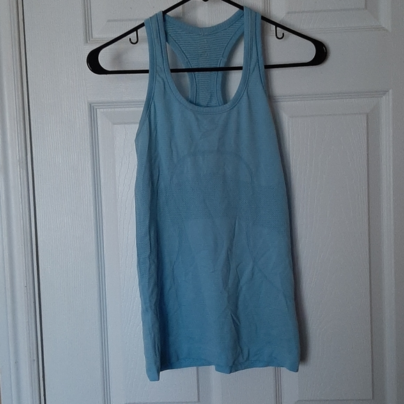 """Lululemon """"I go the distance for cheese"""" tank 4"""